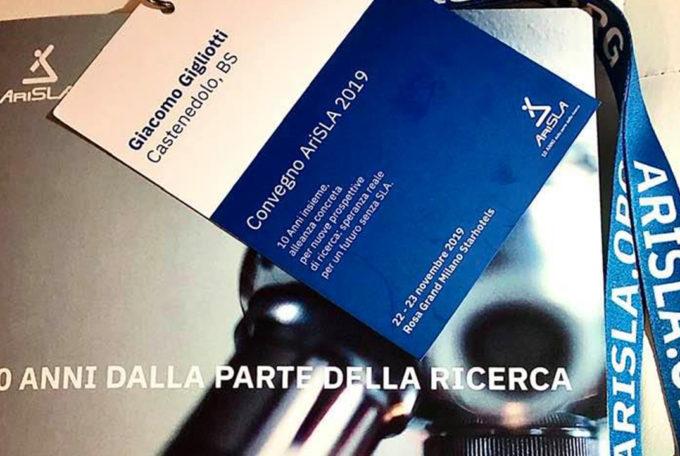 Viva la Vita Italia al Convegno AriSLA 2019