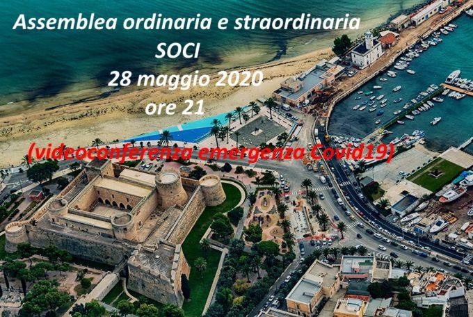 Assemblea ordinaria e straordinaria associati – 28 Maggio 2020