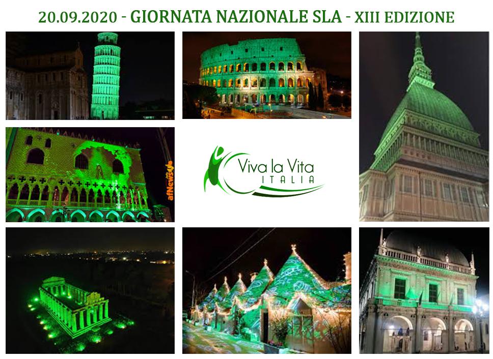 giornata nazionale sla 2020 - viva la vita italia