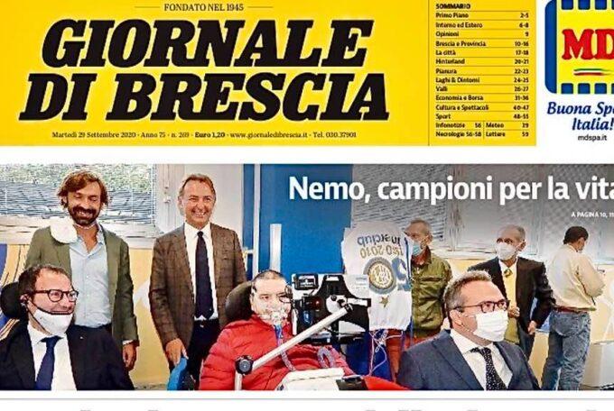 NEMO BRESCIA E CAMPIONI PER LA VITA