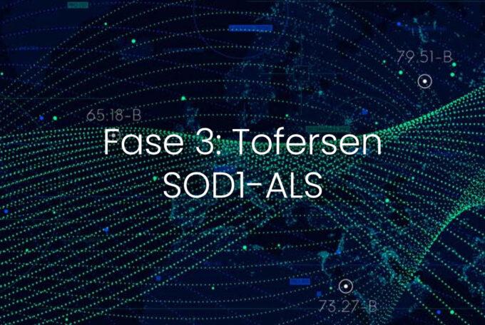 Biogen annuncia i risultati Topline dello studio di fase 3 Tofersen e la sua estensione in aperto in SOD1-ALS